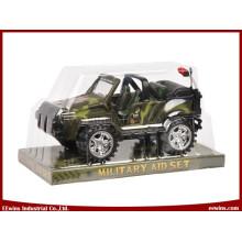 Juguetes de fricción Juguetes militares de jeep para niños