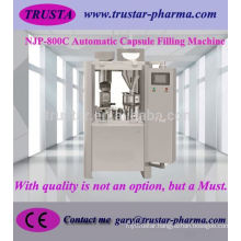 NJP-800 Full-Auto 0# Capsule Filling Machine for power,pellets or granule