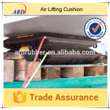 7.5-50cm lifting height of inflatable rubber air spring