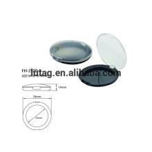 Recipientes de plástico Blush cosmético
