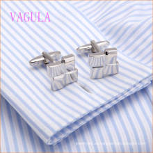 VAGULA Fantasicic Wedding Men Camisa Copper Cuff Link