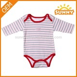 100% Cotton Long Sleeve baby romper