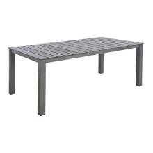 Polywood jardim pátio ao ar livre mobiliário mesa de jantar