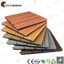 30х30 WPC деревянная пластичная составная плитка