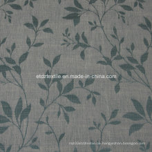 2016 Morden Polyester Stück gefärbte Leinen wie Vorhang Stoff