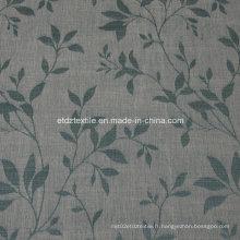 2016 Morden Polyester Piece Teint comme un tissu de rideau