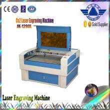 Machine de découpe laser vente chaude JK-1290 contreplaqué