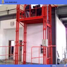 Guide Rail Hydrulic cargo lift
