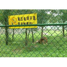 PVC Coated Chain Link Fence para Playground