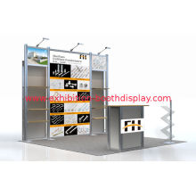 Portable Craft Show Booth Displays For Shopping Mall Wine Display Furniture