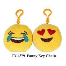 Hot Funny Faces Key Chain Toy