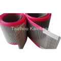 Cinturón de malla de fibra de vidrio de PTFE antiadherente resistente al calor