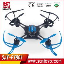 2017 Nuevo artículo RC Drone Reverse Flight Drone 2.4g 4-Axis UFO Aviones Quad Copter FY801