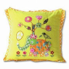 Cushion with Nice Designs, Embroidery, Buttons and Gorgeous Look
