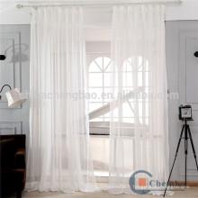 100% Polyester Matériau translucidus Caractéristique Voile Fabric rideaux