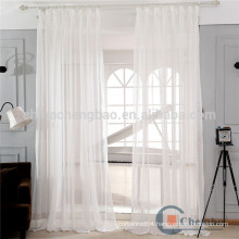 100% Polyester Material translucidus Feature Voile Fabric curtains