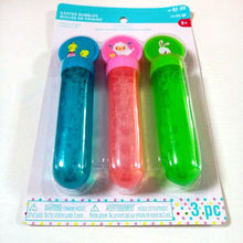 Magic Bubble Wand Soap Safe Água colorida da bolha