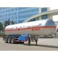 12.7m Thr-axle Liquefied Gas Transport Semi Trailer