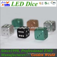 dados coloridos da liga de alumínio do CNC do diodo emissor de luz