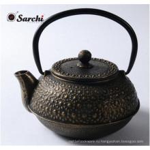 18 унций Эмаль Чугунный чайный горшок для горячей продажи