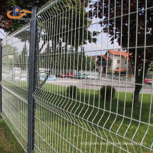 Cheap Pvc Coated 3d Welded Wire Mesh Fence Panel With Curve