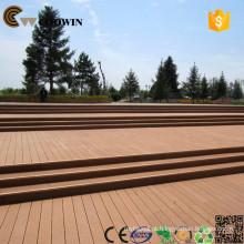Revestimento de piso de madeira reciclado de borracha