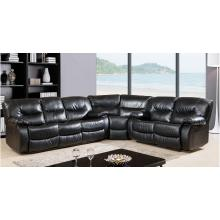 Media Rooms Home Theater Leather Corner Reclining Sectional