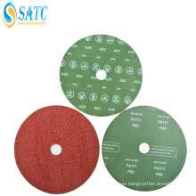 High Quality Silicon Carbide Coated Abrasive Sanding Paper Fiber Disc