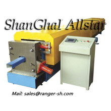 Automatic galvanized downspout roll forming machine from Shanghai