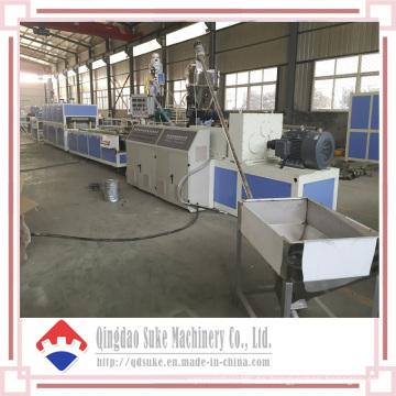 PVC verzieren das Wand-Blatt, das Verdrängungs-Maschine mit Ce und ISO bildet