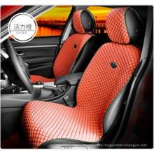 Ice Silk Car Seat Cover Flat Shape-Orange