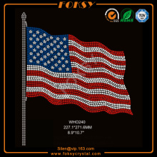 American flag hot fix rhinestone design ideas
