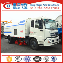 Máquina del barrendero del camino del kingrun 4x2 de Dongfeng con la capacidad 10cbm para la venta
