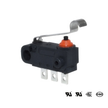 Micro interruptor diminuto dustproof impermeável IP67