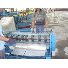 Machine à découper des feuilles d'acier