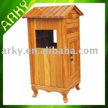Wooden Waste Bin