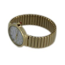Spring Band Quartz Movement Watch for Ladies