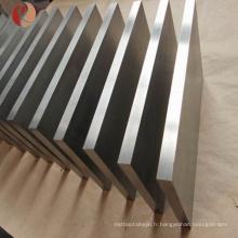 fabricant de haute qualité de plaque de métal de zirconium
