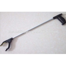 Aluminum trash picker,reaching tool,pick up tool with Plastic handle