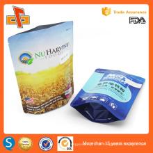 Kundenspezifische leere Protein / Milchpulver Aluminiumfolie Verpackungstasche