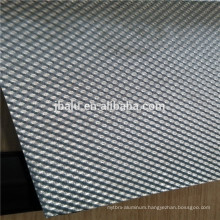 high quality embossed color coated aluminum sheet with low price