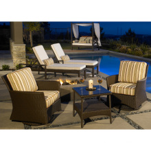 Garden Furniture Wicker Patio Outdoor Rattan Chair Set