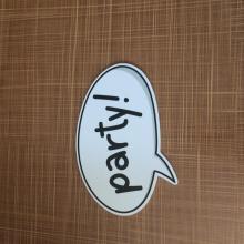 Polietileno personalizado madera contrachapada colorida impresión de carteles