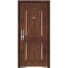 porta de madeira aço