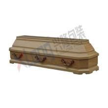 Velveteen Interior Oak Veneer Full Open Coffin