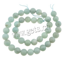 2015 Gets.com 4 mm round amazonite stone gemstone beads