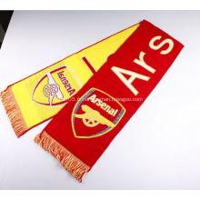 Echarpe supporter personnalisée pour Arsenal FC