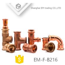 EM-F-B216 Climatiseur raccords de tuyauterie en cuivre