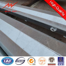 Poste ligero de acero galvanizado lateral de 15kn con brazo cruzado