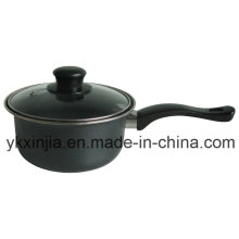 Kitchenware Carbon Steel Non-Stick Coating Milk Pot Cookware